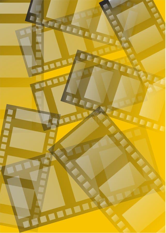 Films vector illustratie