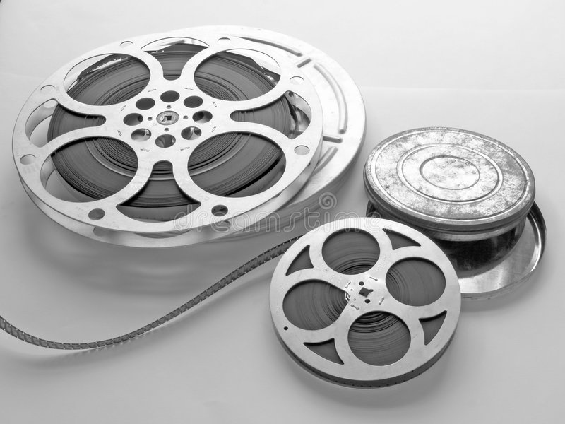 Films. And cans stock images