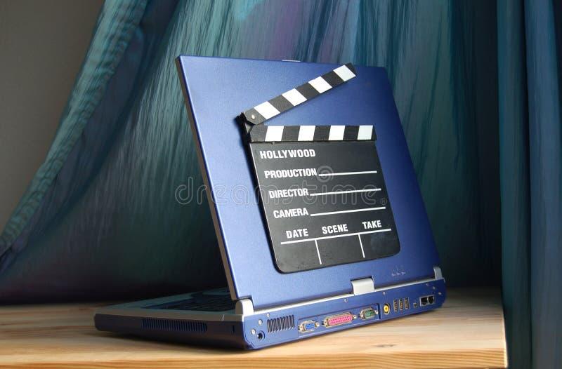 Films d'ordinateur images stock