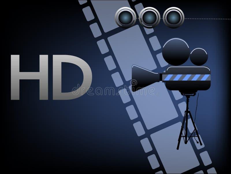 Films de HD illustration de vecteur
