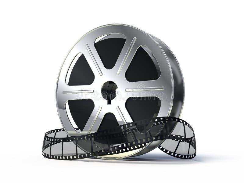 films filmrullen royaltyfri illustrationer