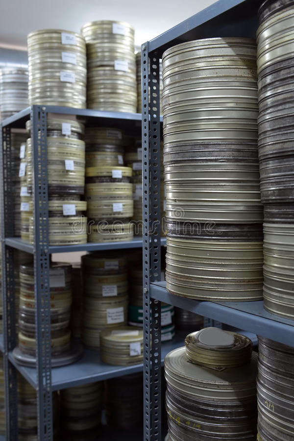 Films Were Stored Stock Photos