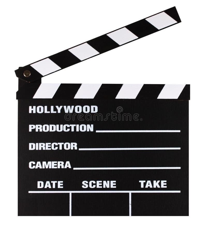 Filmschiefervorstand stockfotos