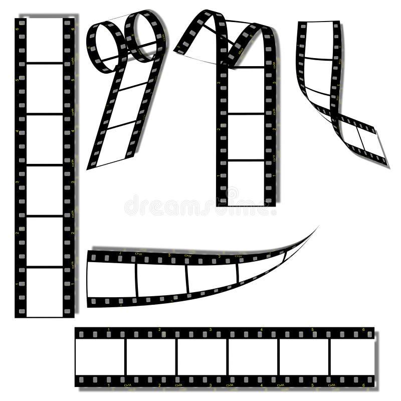 Filmset vektor abbildung