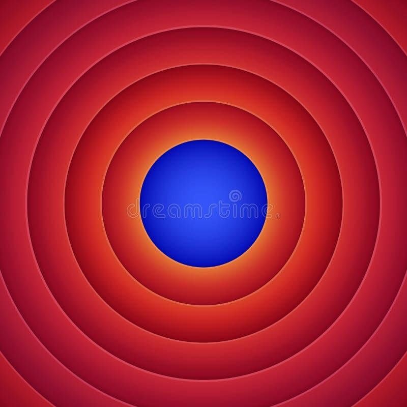 Filmslutbakgrund vektor illustrationer