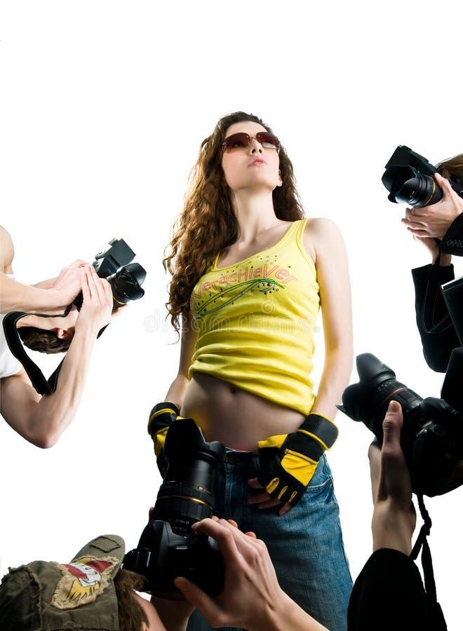 Filmster royalty-vrije stock fotografie