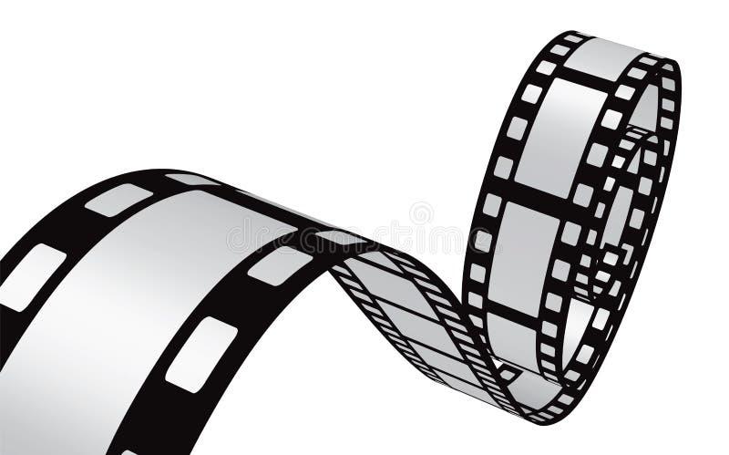 Filmstrip设计 皇族释放例证
