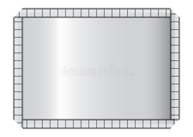 filmstrip πλαίσιο διανυσματική απεικόνιση
