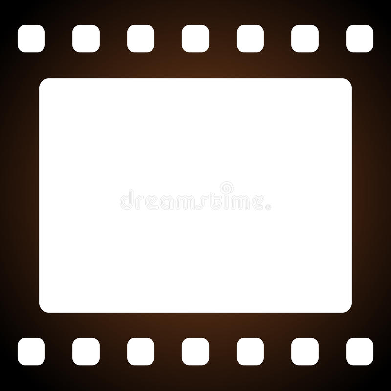 Filmstrip. Vector illustration of filmstrip frame vector illustration