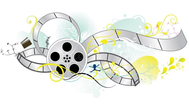 Filmstrip illustration libre de droits
