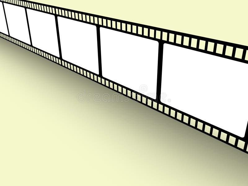 Filmstrip lizenzfreie abbildung