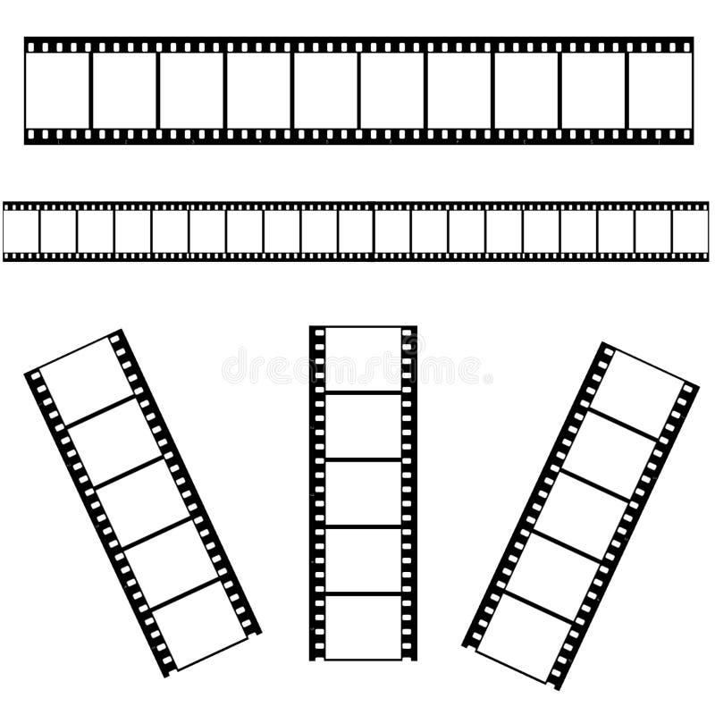 Filmstrip vector illustratie
