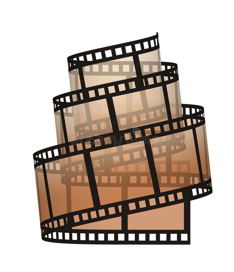 Filmstrip royalty illustrazione gratis