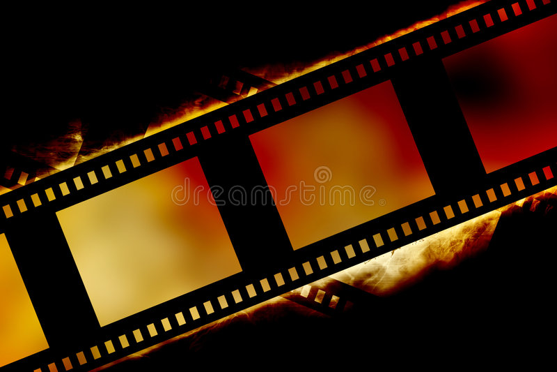 Filmstrip διανυσματική απεικόνιση