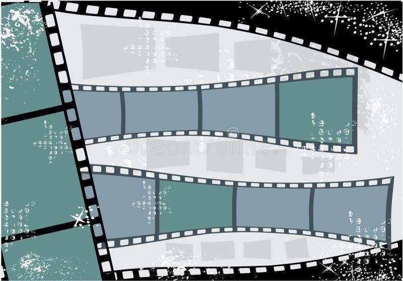 Filmstrip ilustración del vector