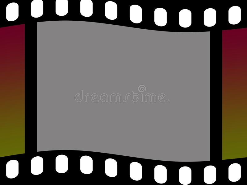 Download Filmstrip stock illustration. Image of cinematography - 6560765