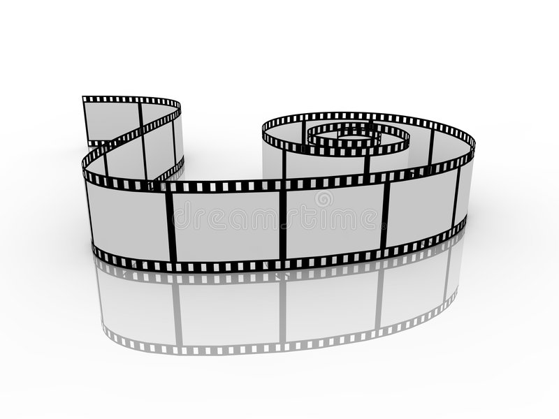 Filmstrip vector illustratie