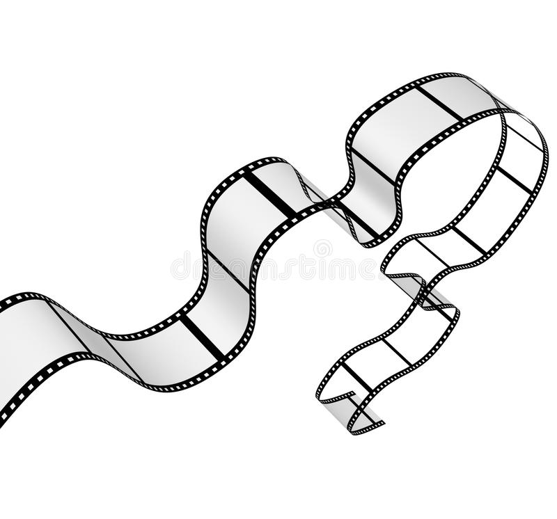 filmstrip vektor abbildung