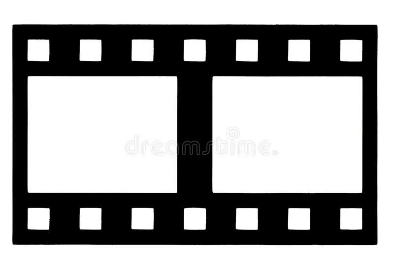 Filmstrip στοκ εικόνες με δικαίωμα ελεύθερης χρήσης