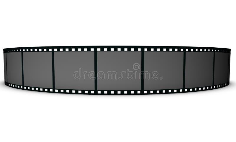 Filmstrip stock abbildung