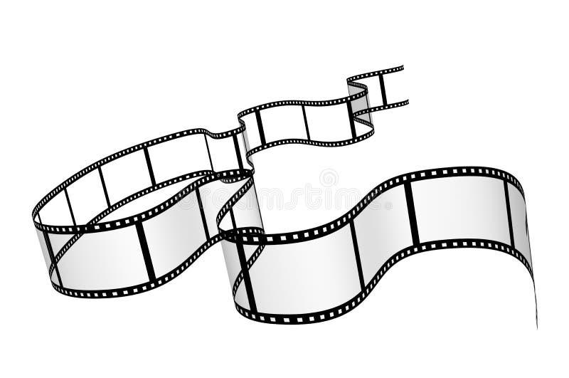 filmstrip 库存例证