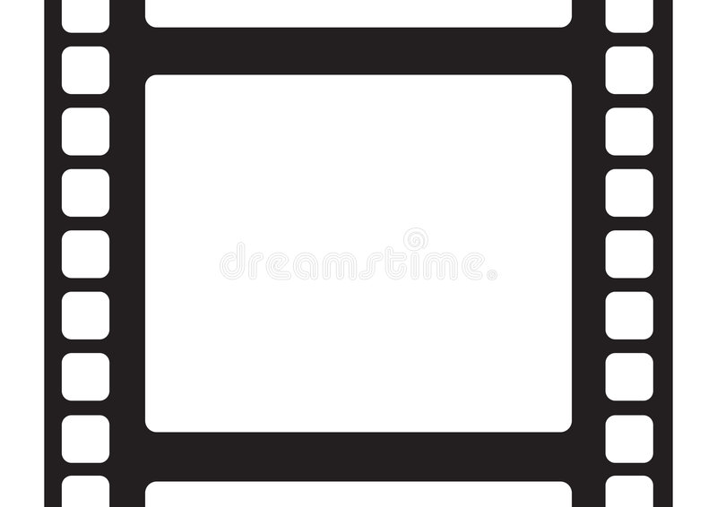Filmstrip stock illustratie