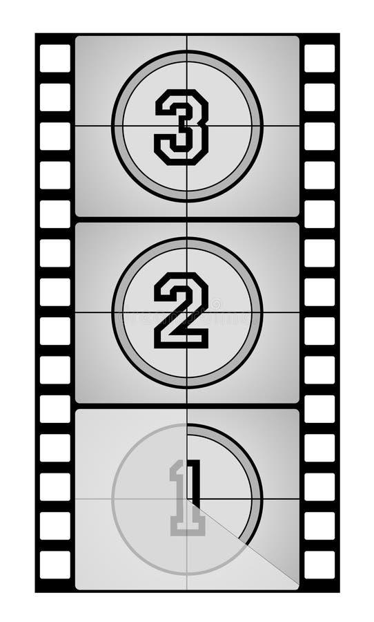 filmstrip иллюстрация штока