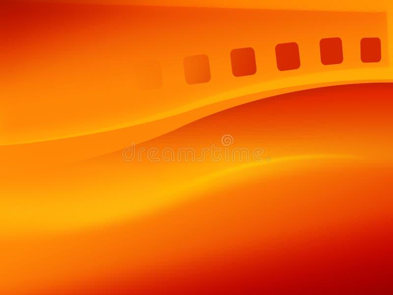 filmstrip abstracto stock de ilustración