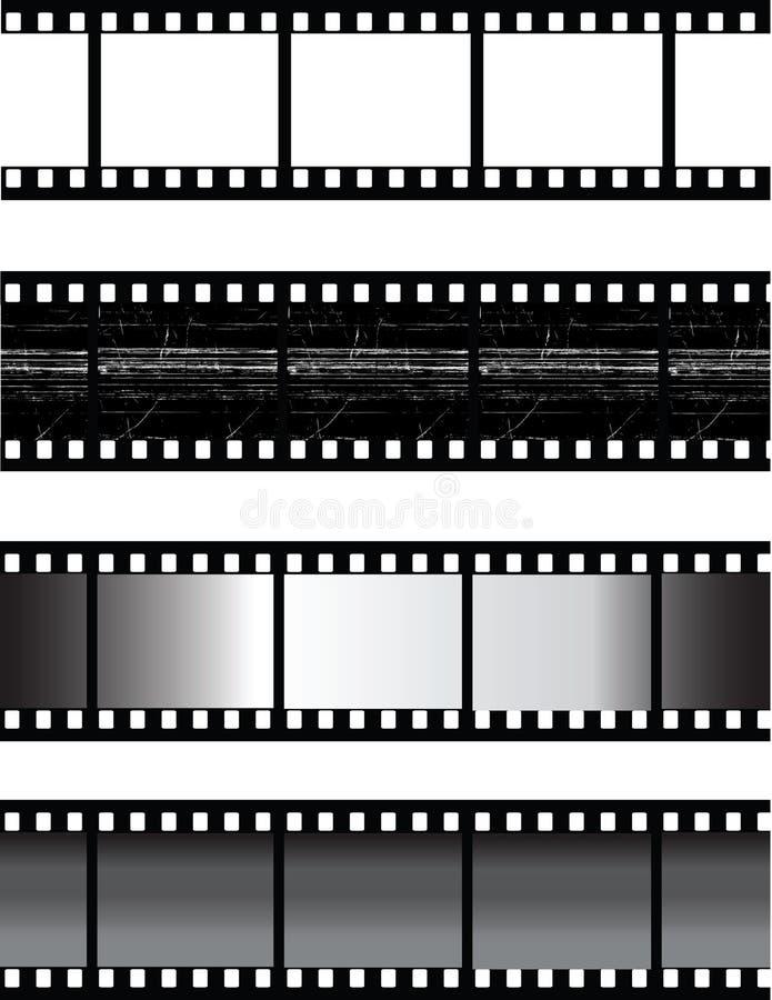 Filmstrip do vetor ilustração stock