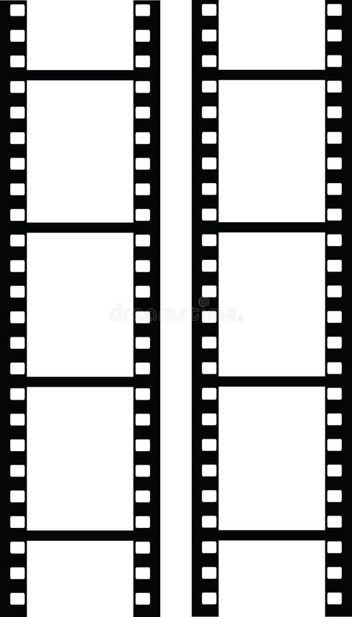 Filmstrip do vetor fotos de stock
