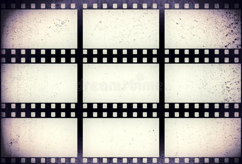 Filmstrip Grunge стоковое фото rf