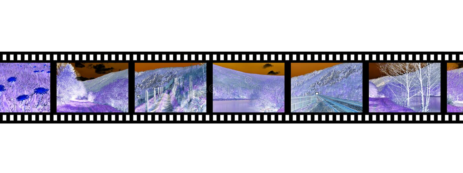 Filmstrip negative photo film. Photography royalty free stock photography