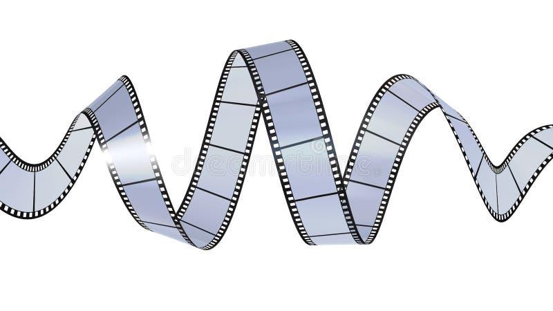 Download Filmstrip Que Acena No Código Digital Ilustração Stock - Ilustração de gerado, fundos: 10057764