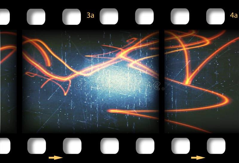 Filmstrip tła rama zdjęcia stock