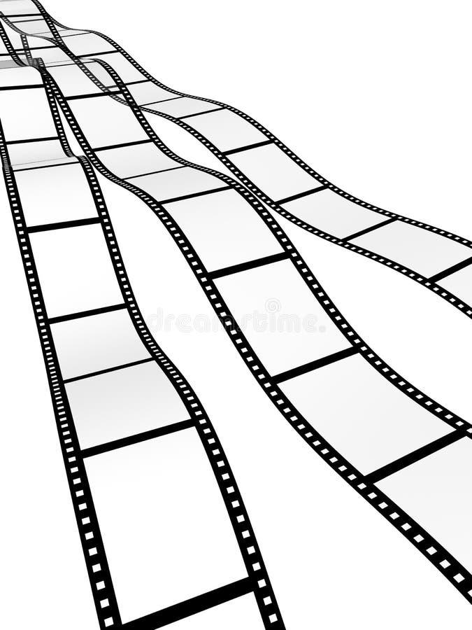 filmstrips 库存例证