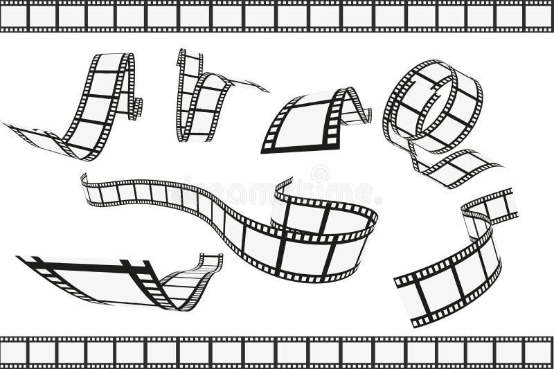 filmstrips απεικόνιση αποθεμάτων