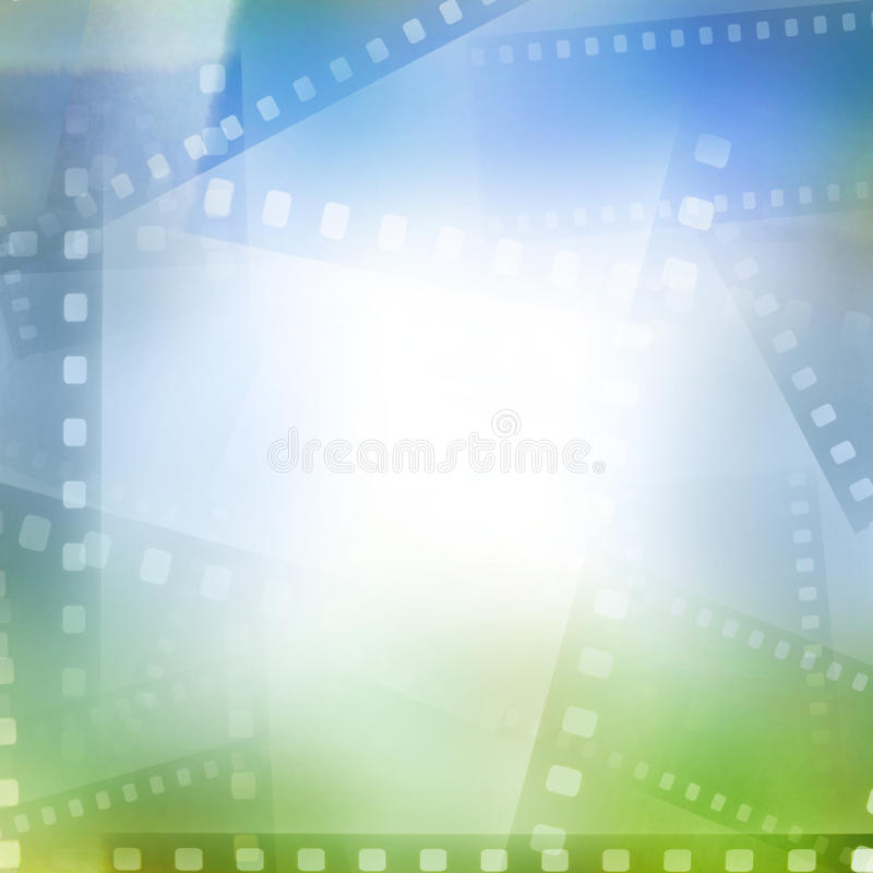 Filmstrips stock illustration