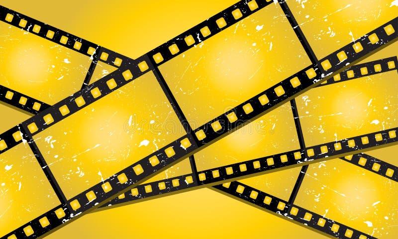 Filmstrips di Grunge royalty illustrazione gratis
