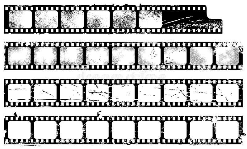 filmstrips grunge ilustracja wektor