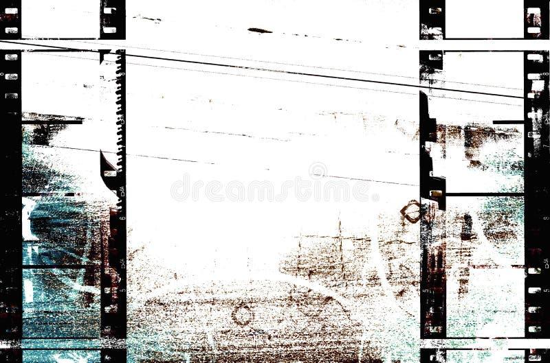 Filmstrips Urban Grunge stock photography