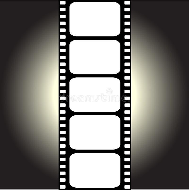 filmstripvektor vektor illustrationer