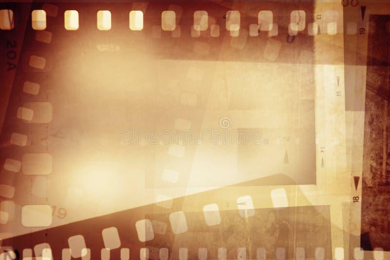 Filmstroken royalty-vrije stock afbeelding