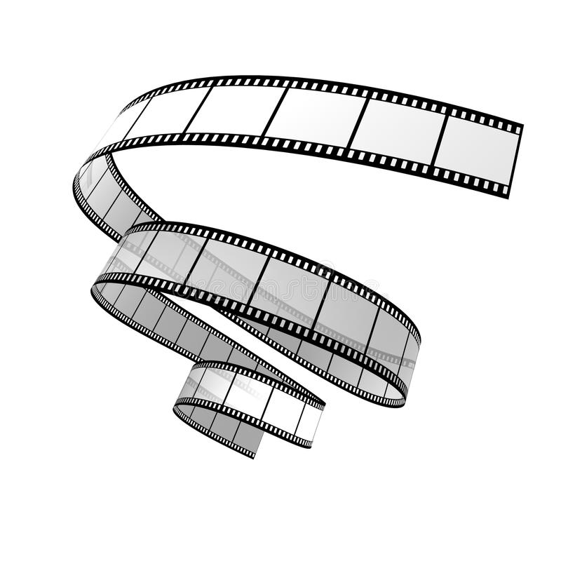 Filmstrook royalty-vrije illustratie