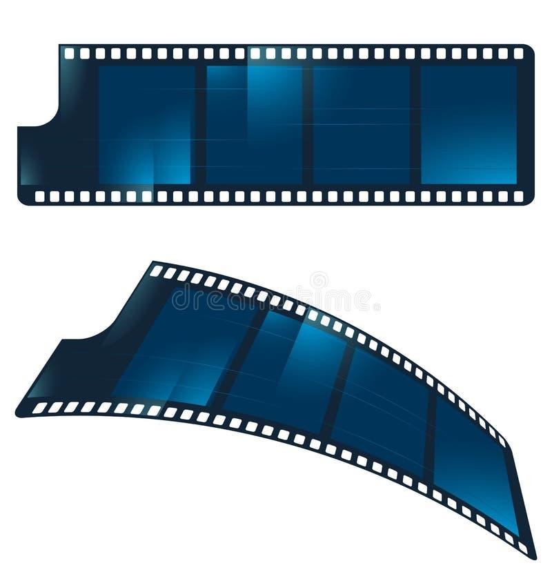 filmsymbol vektor illustrationer
