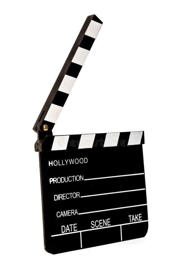 Filmu Clapper obraz stock