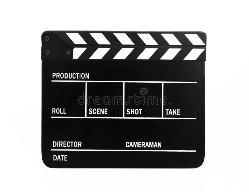 Filmu Clapper deska obraz stock