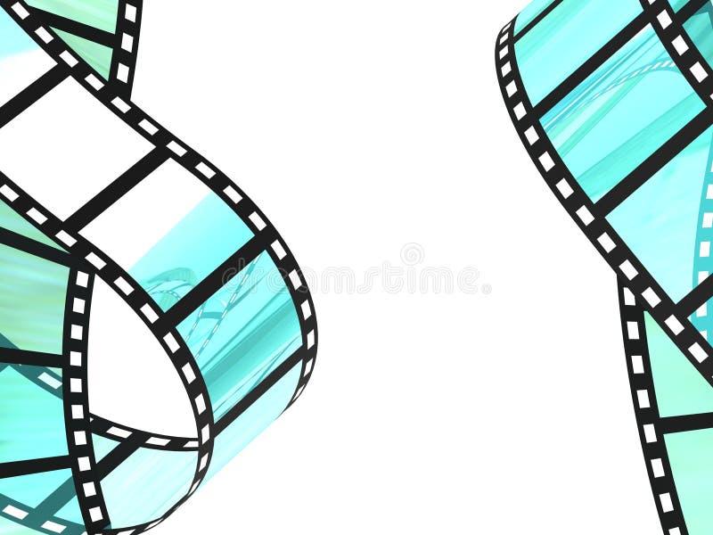 Filmu Pasek royalty ilustracja