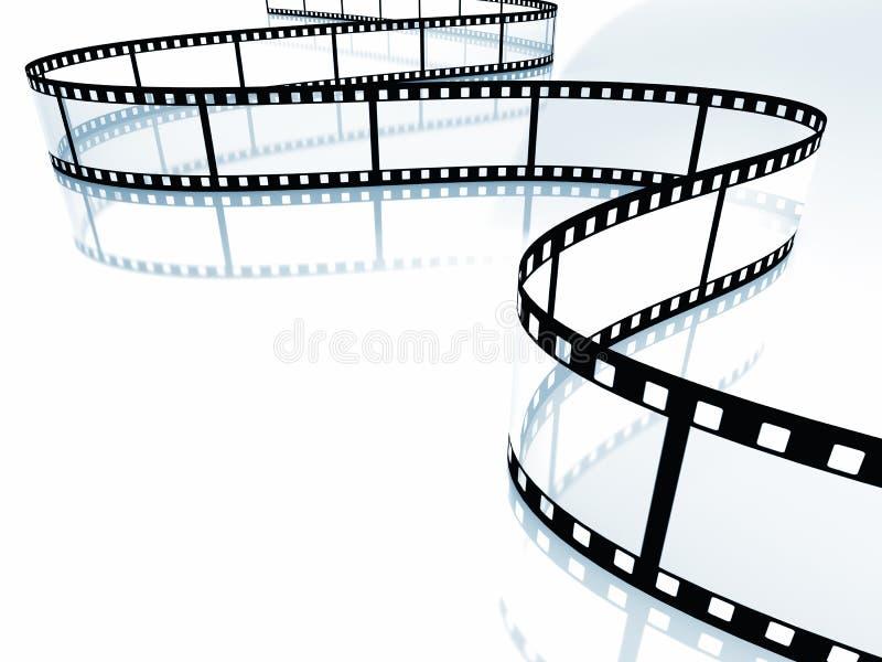 Filmu pasek ilustracji