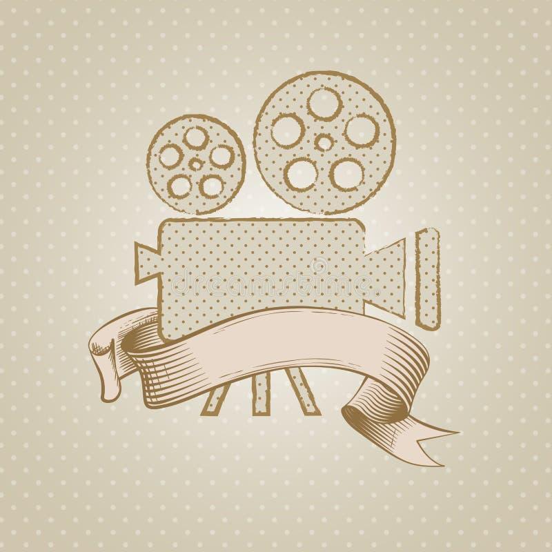 Filmu projektor ilustracja wektor