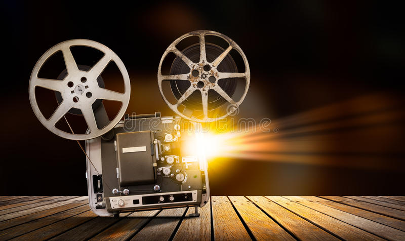 Filmu projektor zdjęcia stock